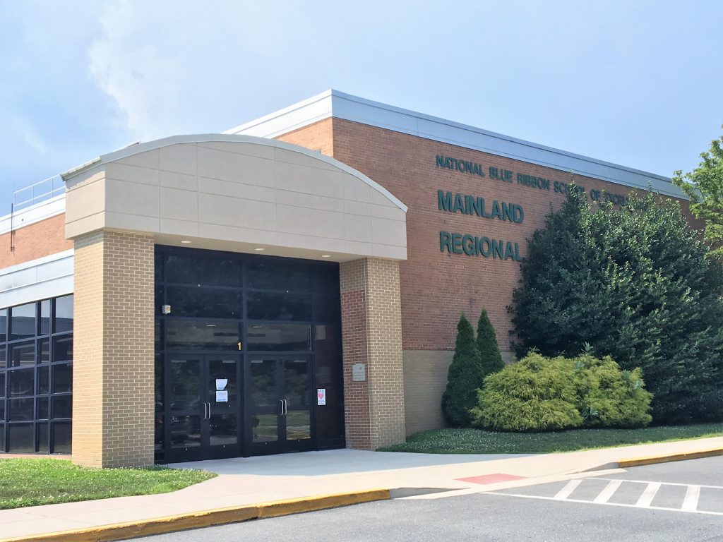 Mainland Regional High School Kisby Shore Mechanical